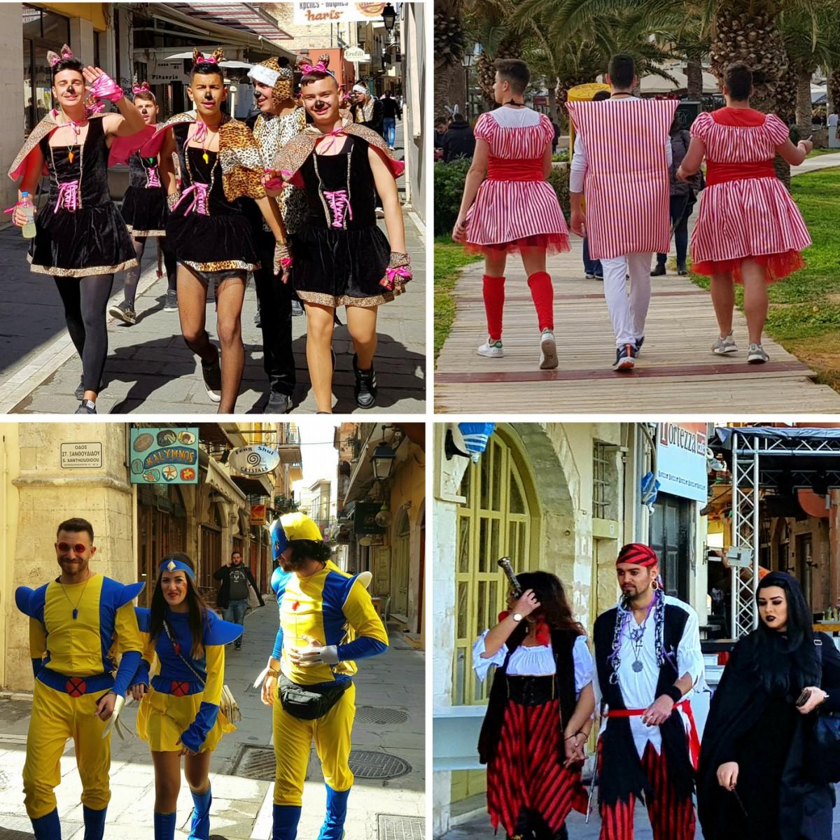 Karneval på Kreta