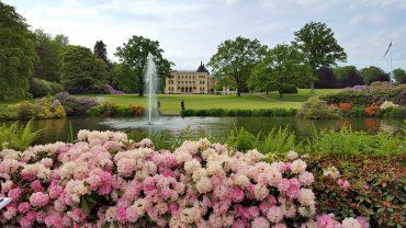 Slottsparken i Larvik
