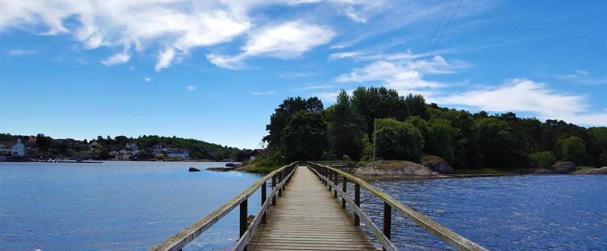 Oterøya - gangbru