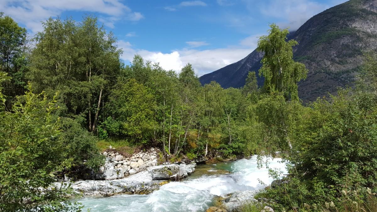 Bilferie Vestlandet - Elvestryk og fossefall på Snøveien