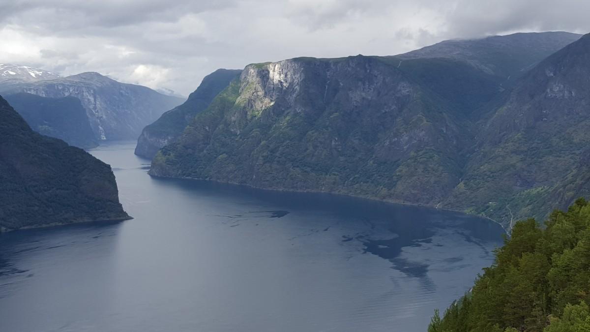 Stegasteinen Fjordutsikt Aurland