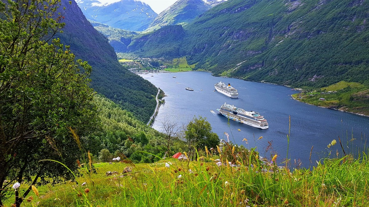 Geirangerfjorden utsikt