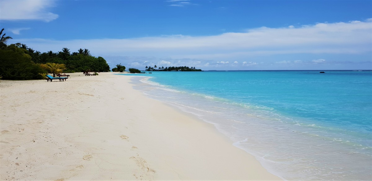 Sun Island Resort Maldivene strender