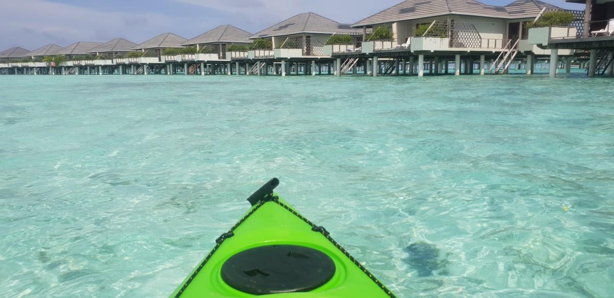 Kajaktur på Maldivene