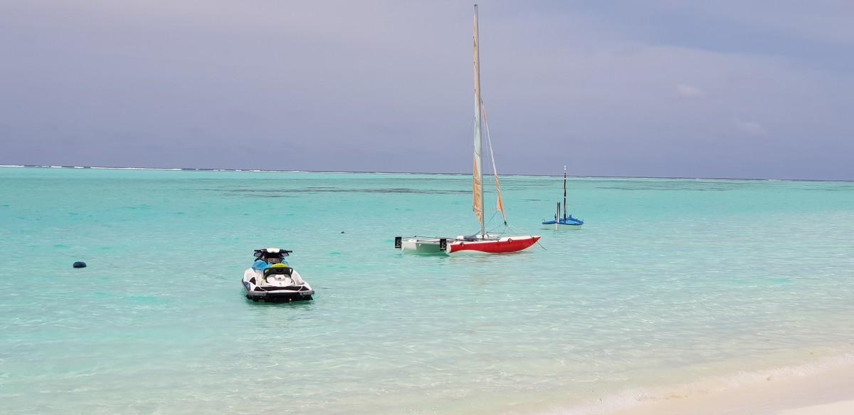 Vannsport på Maldivene