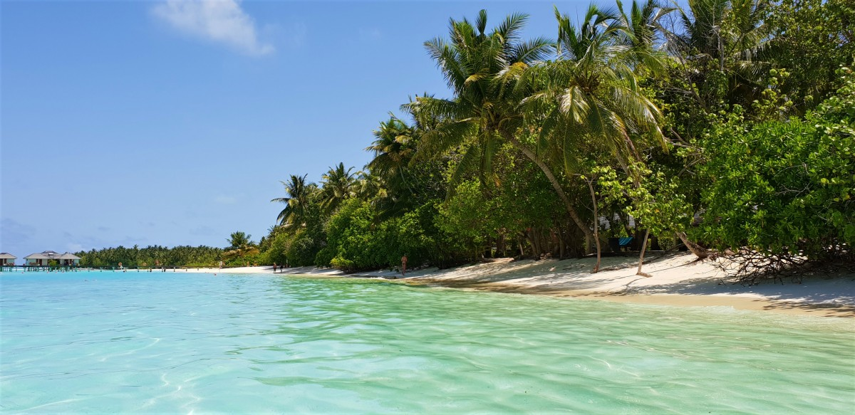 Vakre strender på Maldivene