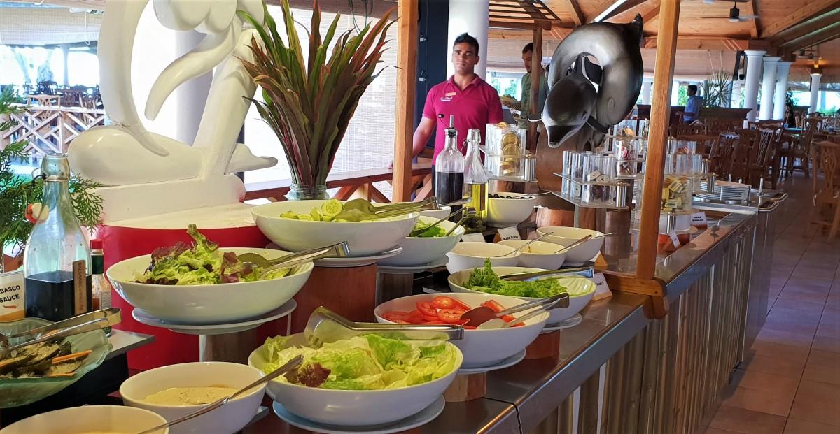 God salat på Maldivene