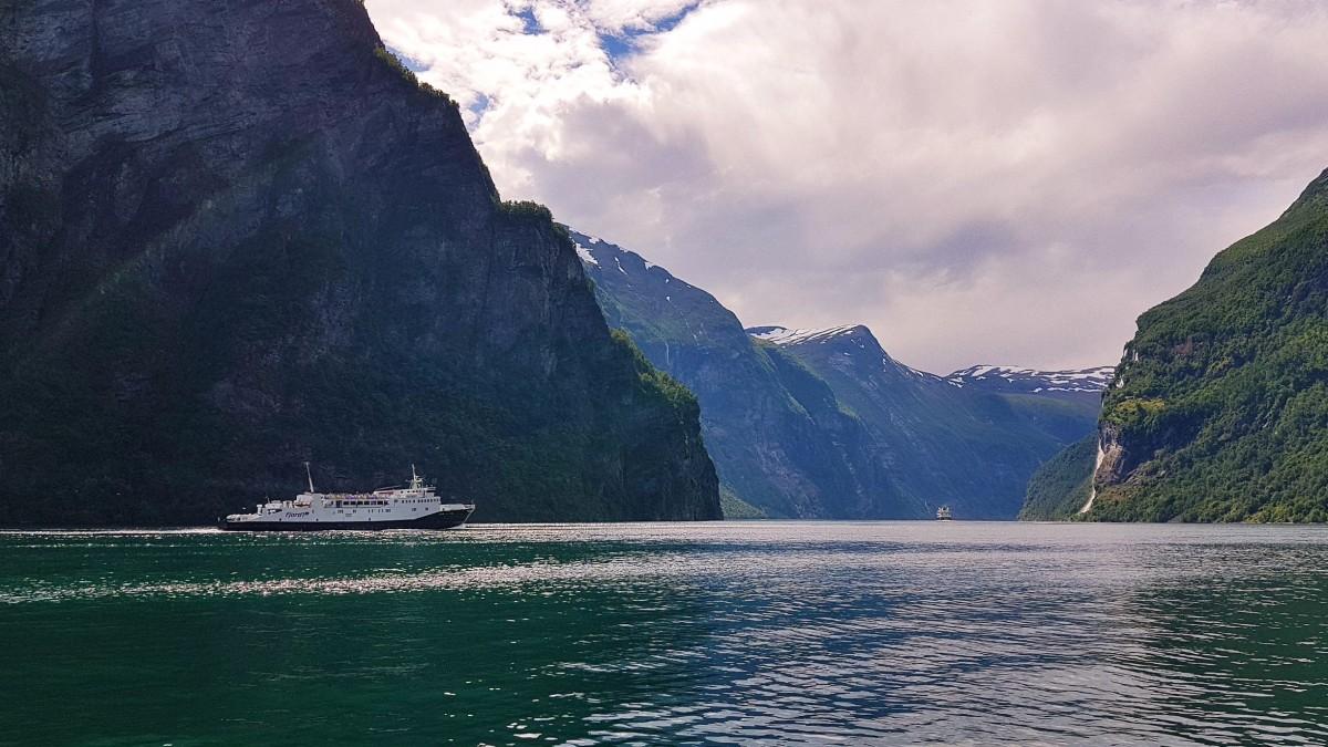 Ferge Geirangerfjorden