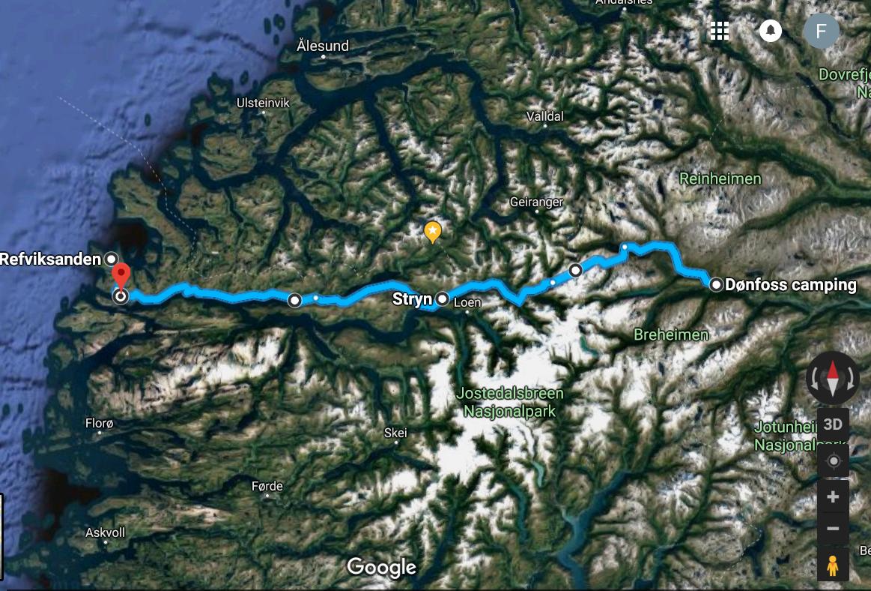 Fra Strynefjellet til Vågsøy