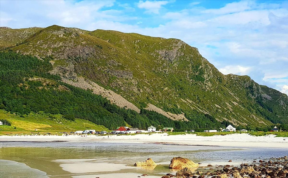 Refviksanden på Vågsøy