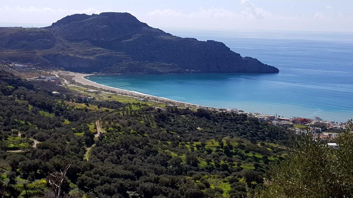 Bilferie på Kreta gir flotte utsikter
