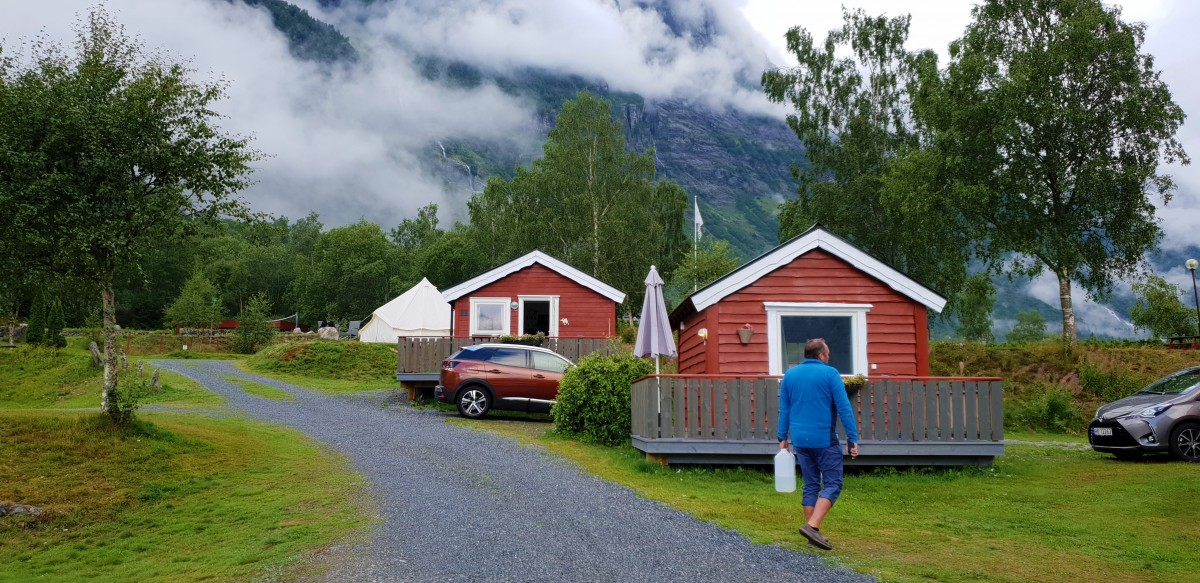 Campinghytte på bilferie i Norge - Reiseblogg