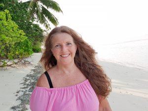Anne Bente, reiseblogger på Maldivene