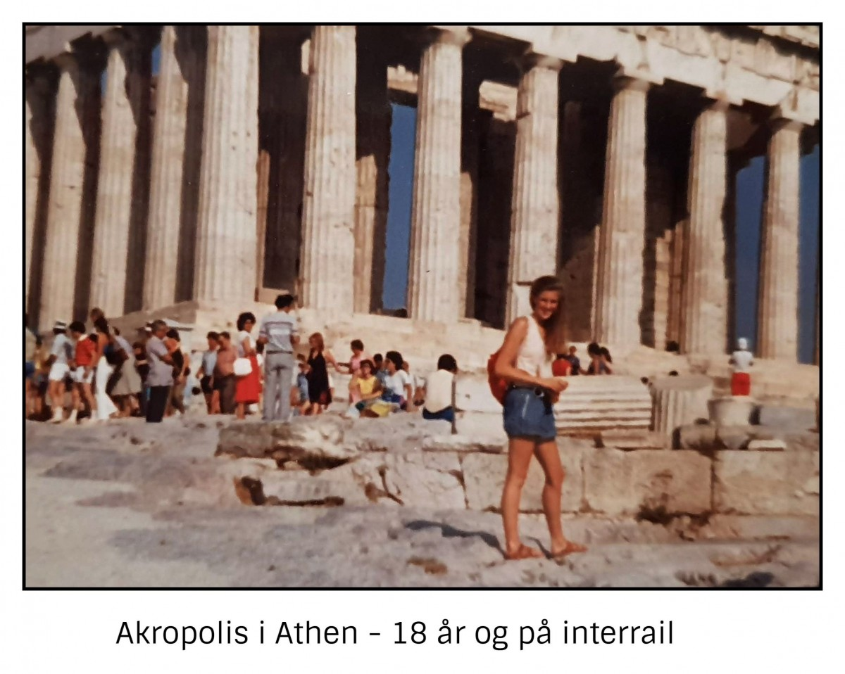 Interrail med Athen som mål