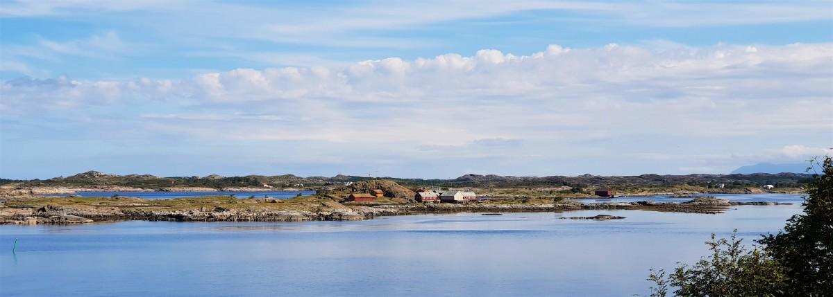 Utsikt fra Geitøya på Atlanterhavsveien