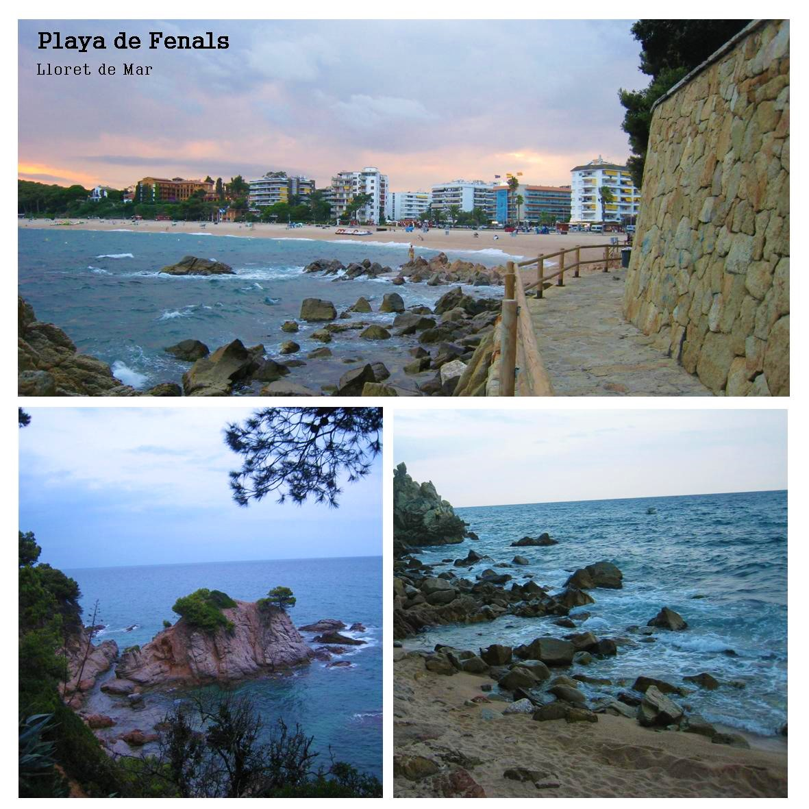 Playa de Fenals i Lloret de mar