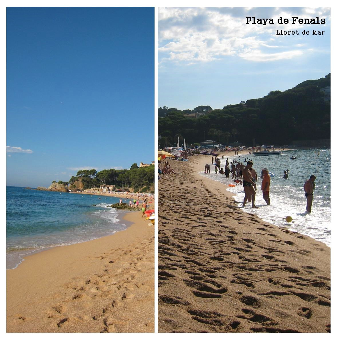 Playa de Fenals - Lloret de mar Costa Brava
