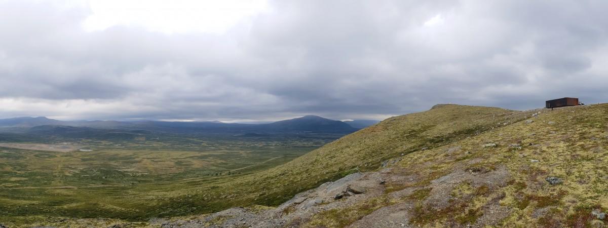 Viewpoint Snøhetta utsikt Dovrefjell