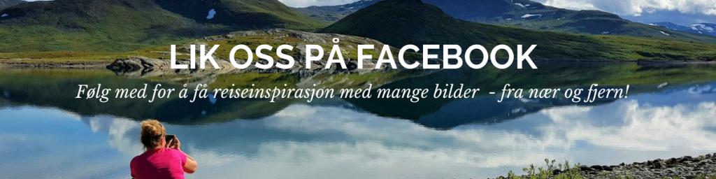Lik Favorittreiser å FAcebook