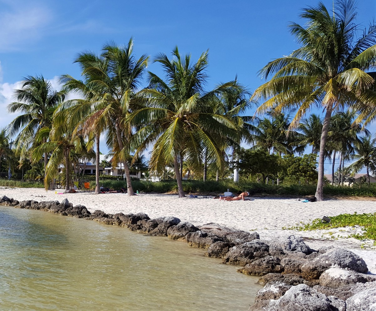Sombrero Beach på bilferie i Florida Keyes