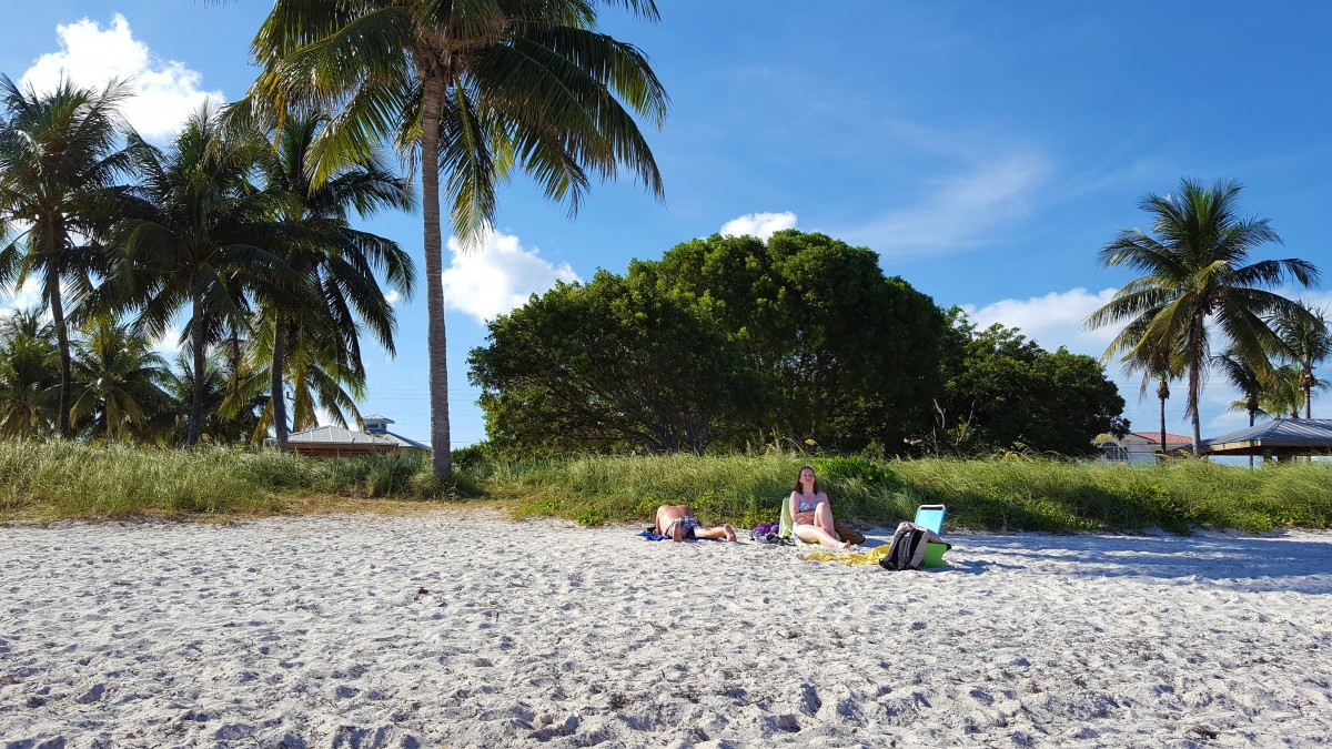 Sombrero Beach på bilferie i Florida Keys