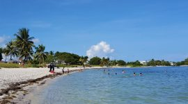Sombrero Beach i Florida Keys