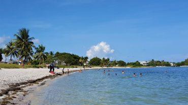 Sombrero Beach i Florida Keys