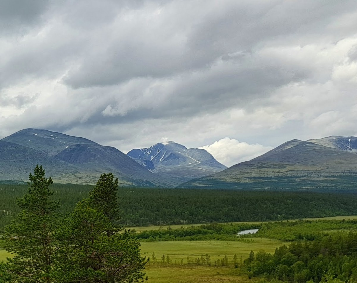 Rondanes høye fjelltopper
