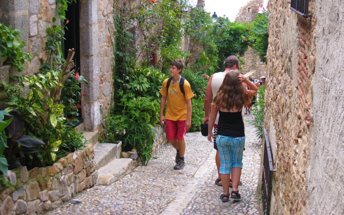 Gamlebyen i Tossa de Mar
