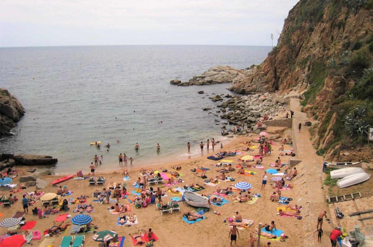 Tossa de Mar - strand