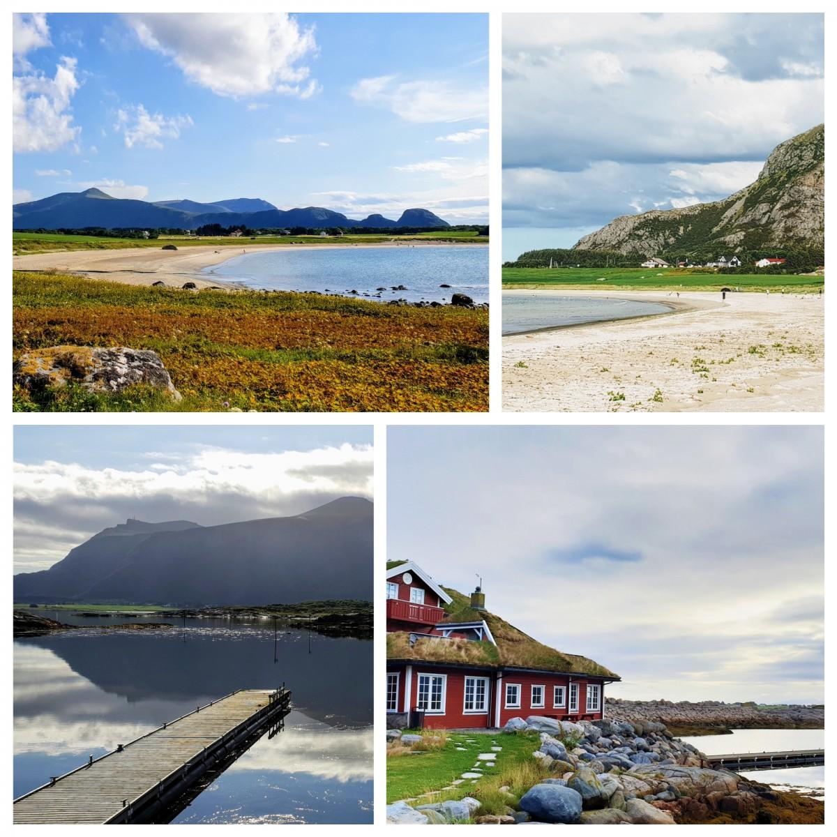 Huststadvika og Farstadsanden på bilferie i Norge