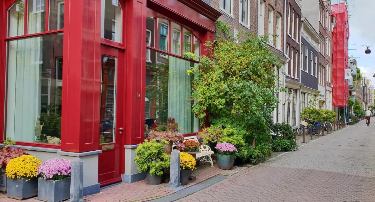 Gatehjørne i Amsterdam