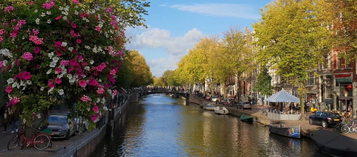 Kanal i Neiuwmarkt - Amsterdam