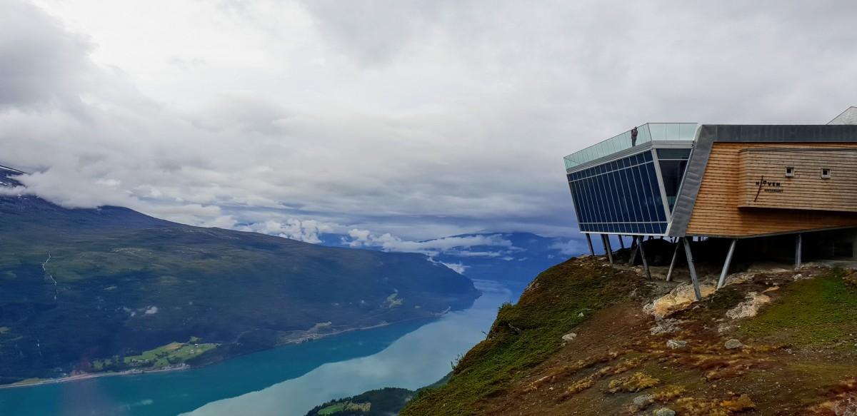 Loen Skylift - taubane og restaurant