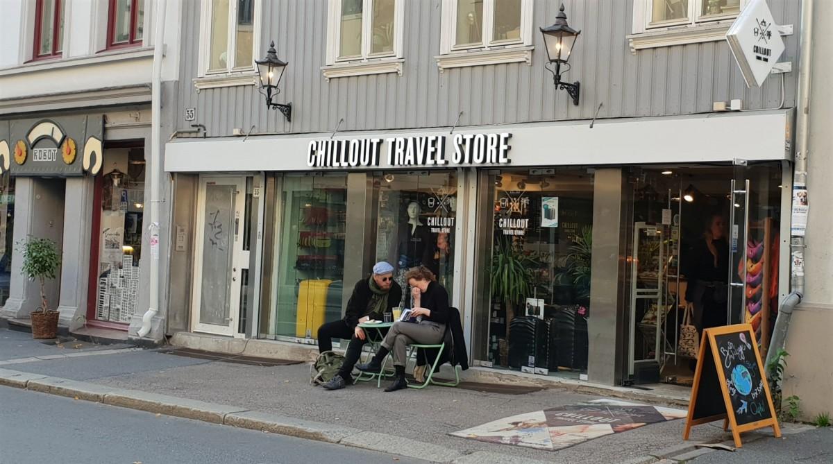 Chillout Travel Store på Grünerløkka.