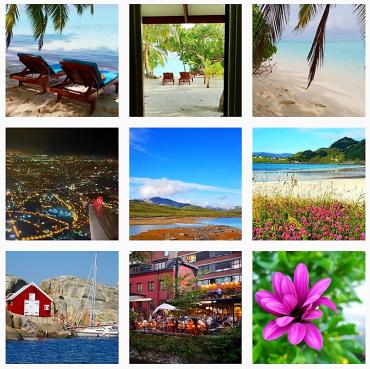 Jepp, jeg bruker Instagram for å finne reisemål!