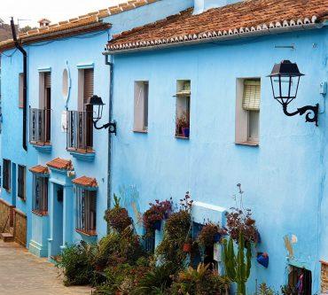 Juzcar – den blå smurfebyen i Spania