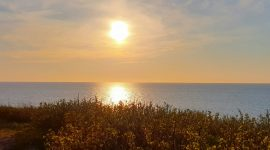 Hirtshals Fyr og solnedgang