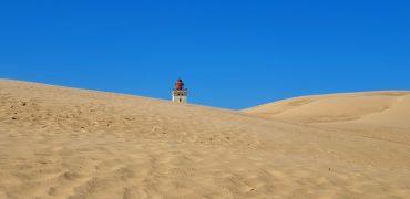 Ørkenvandring på Rubjerg Knude