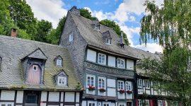 Eventyrlige Goslar i Tyskland