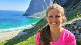 Fottur til Kvalvika Beach i Lofoten