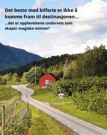 Bilferie i Norge – opplevelser langs veien