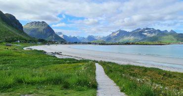 Rambergstranden – en av Lofotens vakreste strender