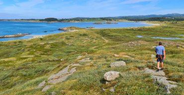 Vakre strender og kyststi ved Farsund på Lista