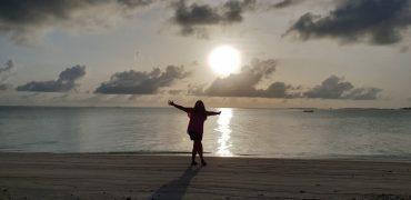 24 timer på Maldivene