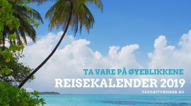 GAVE: Reisekalender 2019